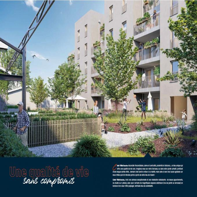 Programme neuf Appartement Villefranche-sur-Saône (69400)